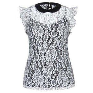 NWT City Chic Lady Victoria Plus Size 14 Lace Top